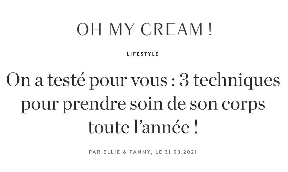 Esteem Paris - Oh my cream !